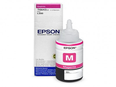 Refill Tinta Epson Magenta T6643 Original