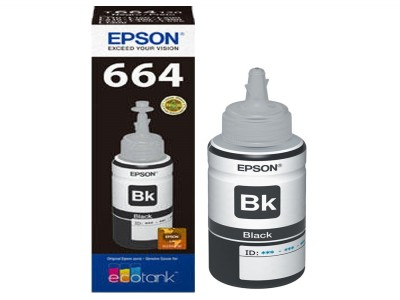 Refill Tinta Epson Black T6641 Original