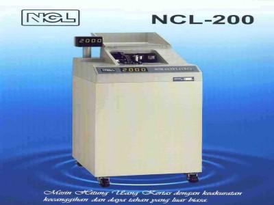 Mesin Hitung Uang NCL - 200 Standing