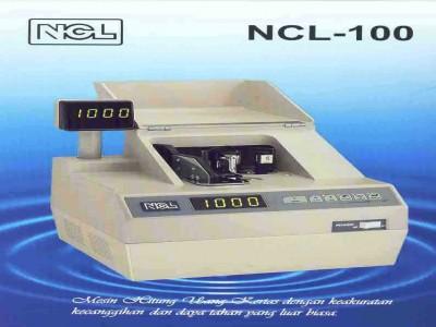 Mesin Hitung Uang NCL - 100 Portable