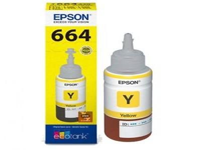 Refill Tinta Epson Yellow T664 Original